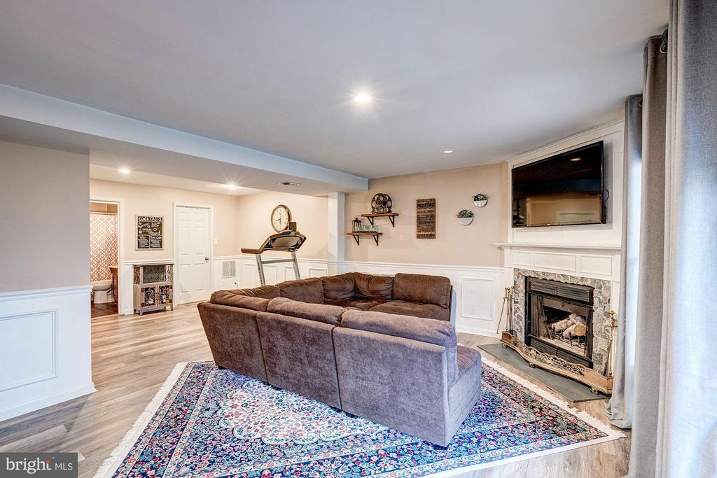 Family Room - Recess Lighting! - 1614 OAK SPRING WAY, RESTON