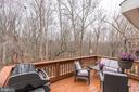 Deck - Located Off Kitchen on Main Level of Home! - 1614 OAK SPRING WAY, RESTON