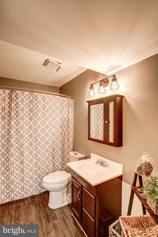 Full Bathroom #3 - Lower Level of Home - 1614 OAK SPRING WAY, RESTON