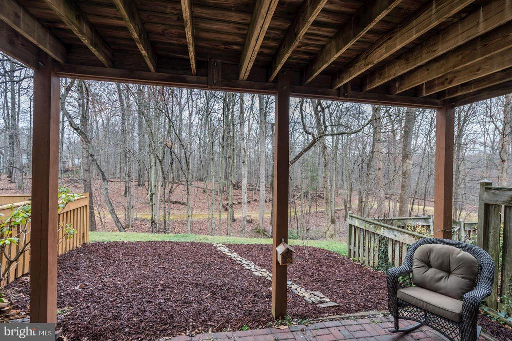 View from Patio - So Serene & Peaceful! - 1614 OAK SPRING WAY, RESTON