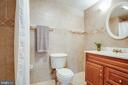 Full bath on the basement level - 304 SEDGWICK CT, STAFFORD