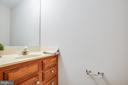 Half bath on main level - 304 SEDGWICK CT, STAFFORD
