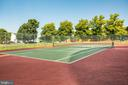 Tennis courts - 304 SEDGWICK CT, STAFFORD
