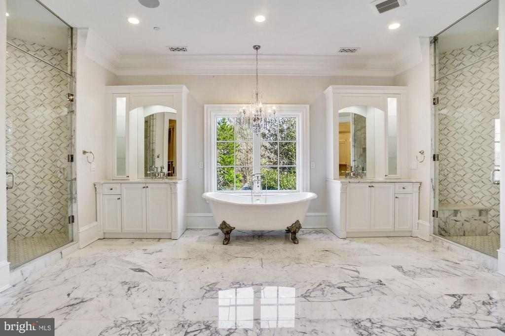Spa Inspired Master Bathroom - 3301 FESSENDEN ST NW, WASHINGTON