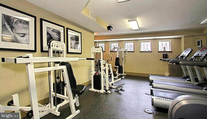 Exercise room - 555 MASSACHUSETTS AVE NW #202, WASHINGTON