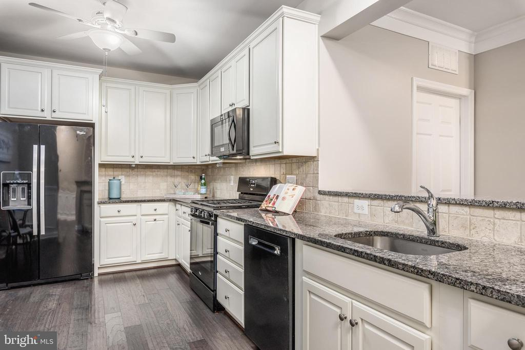 Gorgeous cabinets and granite countertops - 20570 HOPE SPRING TER #206, ASHBURN