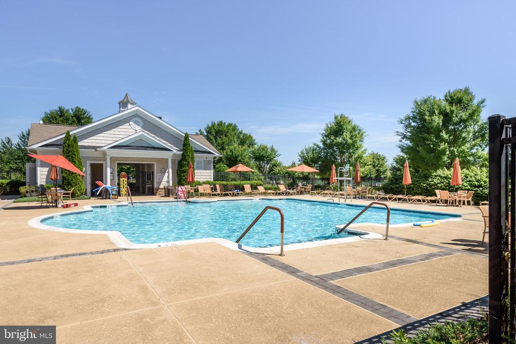 Outdoor Pool - 20570 HOPE SPRING TER #206, ASHBURN