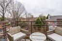 Balcony - 5201 WISCONSIN AVE NW #401, WASHINGTON