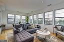 Living Room - 5201 WISCONSIN AVE NW #401, WASHINGTON