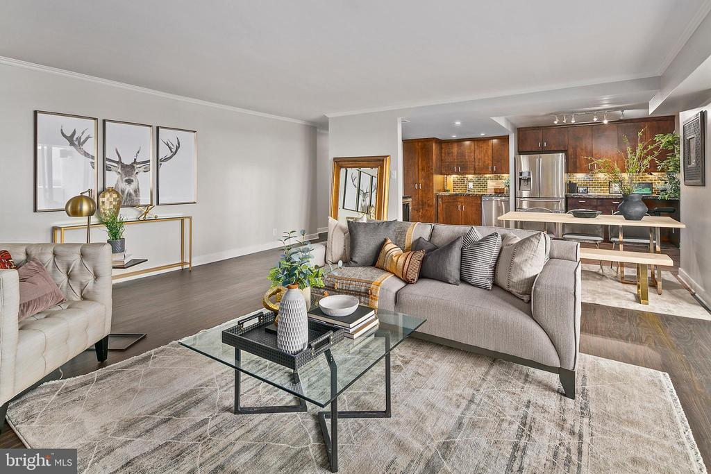 Open Floor Plan, Great for Entertaining - 4601 N PARK AVE #1706, CHEVY CHASE