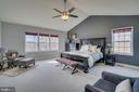 Large Master Suite - 81 SENTINEL RIDGE LN, STAFFORD