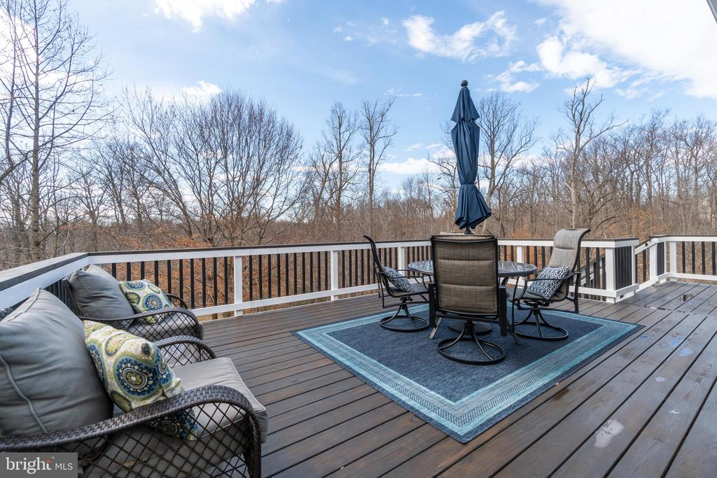 NEW Wood Deck! - 81 SENTINEL RIDGE LN, STAFFORD