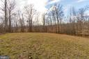 Large Backyard with Wooded View - 81 SENTINEL RIDGE LN, STAFFORD