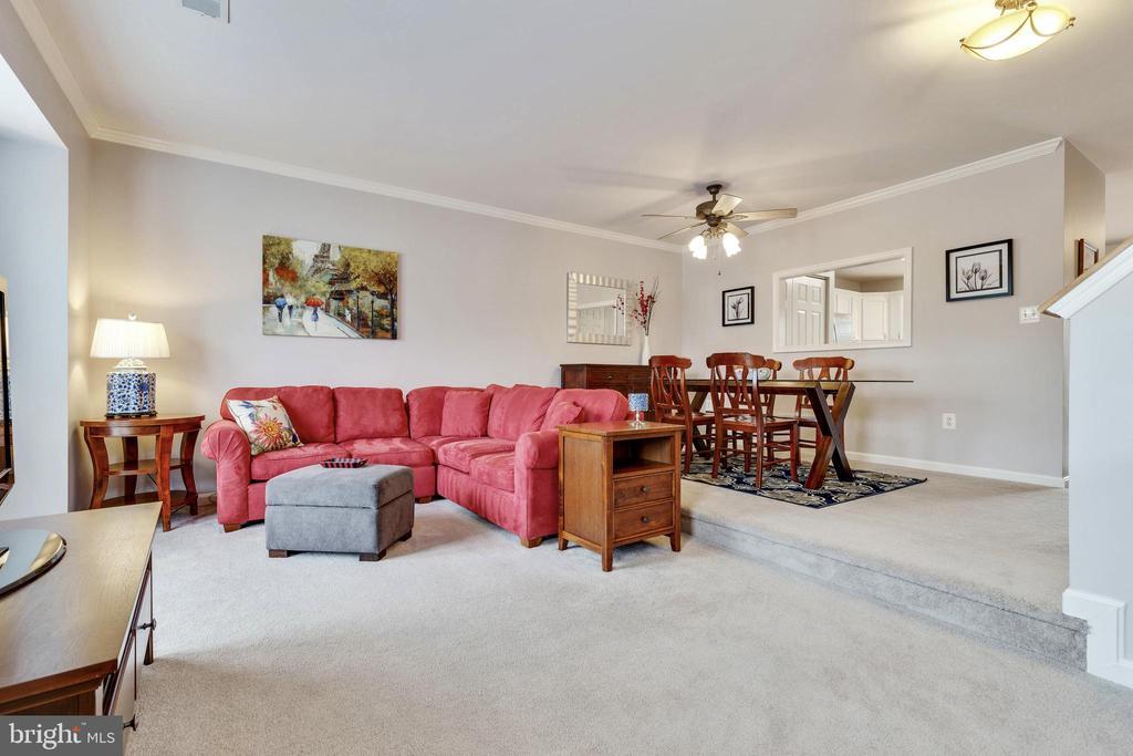 Living Room & Dining Room - 5353 TORTOISE PL, WOODBRIDGE