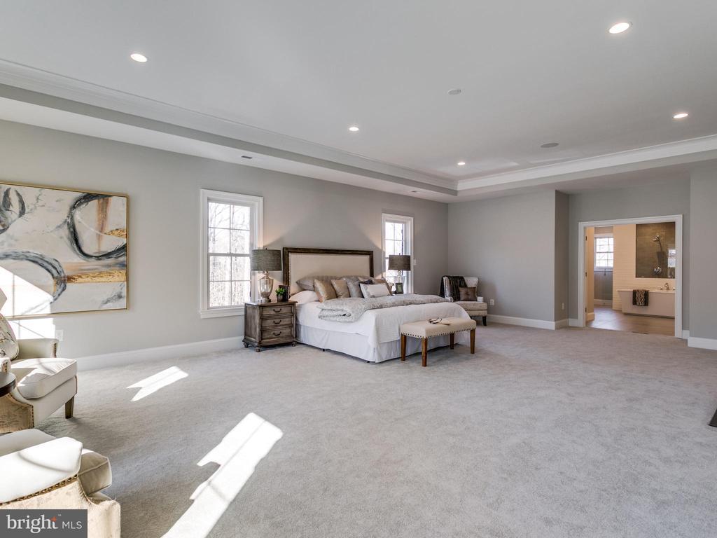 Master Bedroom - 9978 BLACKBERRY LN, GREAT FALLS