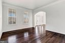 Formal Living Room with Arched Doorway - 11022 BLEVINS DR, CLARKSVILLE