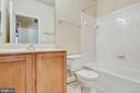 Upper level hall bath - 363 BELT PL, GAITHERSBURG