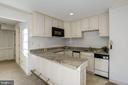 kitchenette with m/w, dishwasher, fridge - 3818 N RANDOLPH CT, ARLINGTON