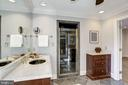 private bathroom with vanity and large shower - 3818 N RANDOLPH CT, ARLINGTON