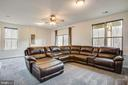 Recreation room with wet bar rough in - 48 SURVEYORS WAY, STAFFORD