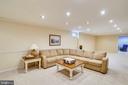 Huge Finished basement - 24624 RIDGE RD, DAMASCUS