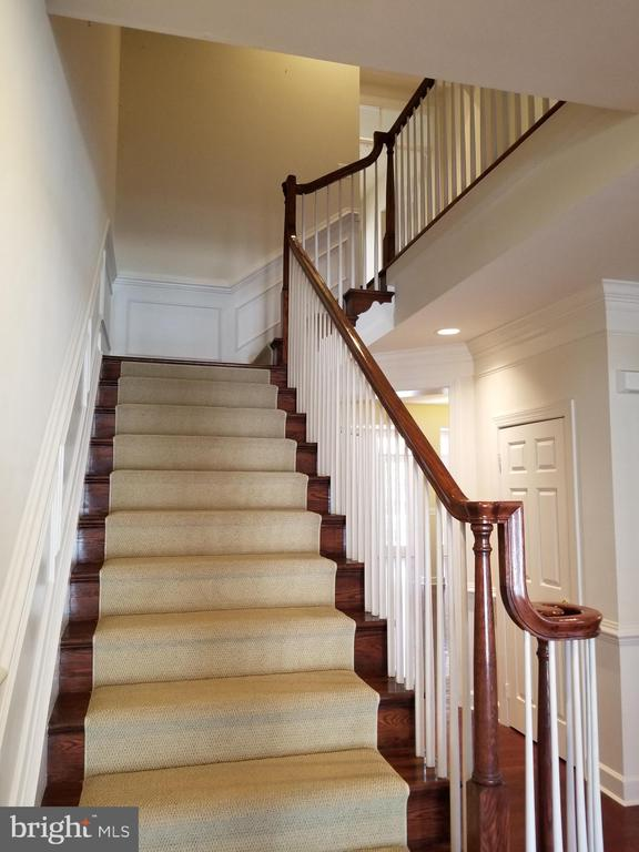 Stairway to Upper Level - 18213 CYPRESS POINT TER, LEESBURG