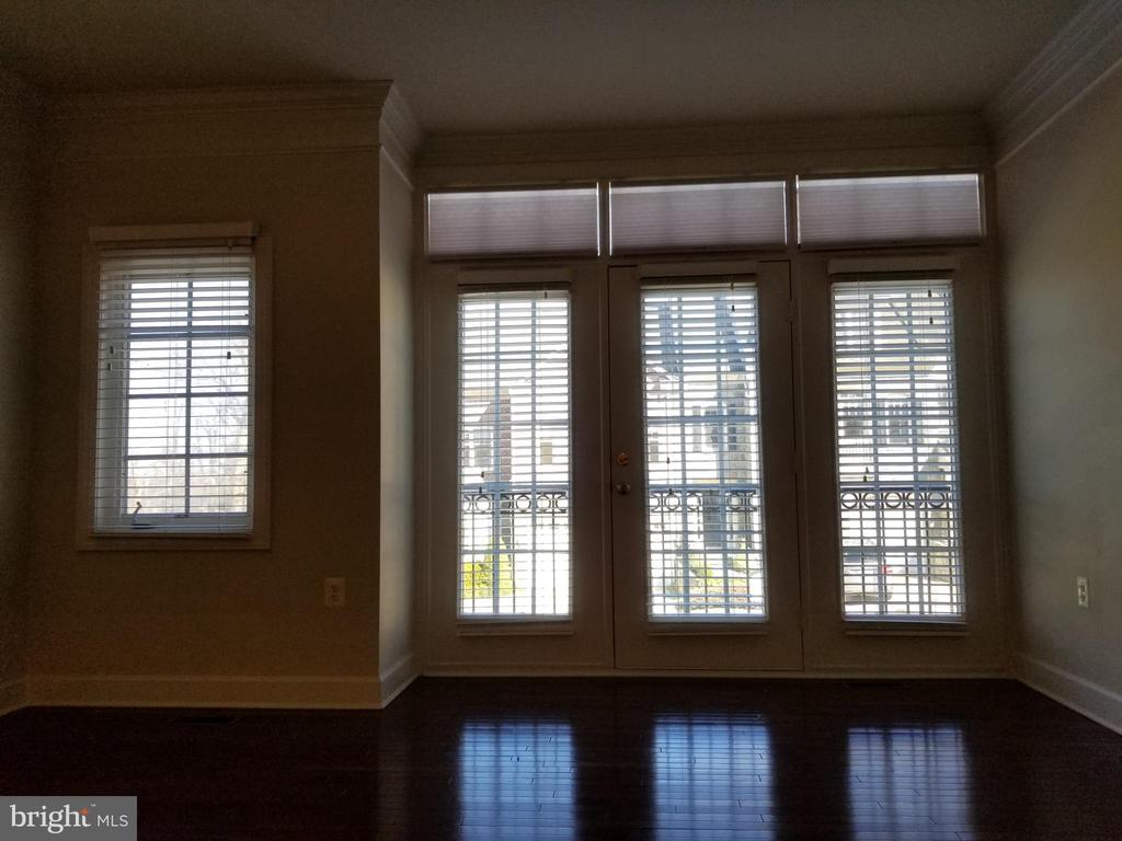 View from Living Room - Main Level - 18213 CYPRESS POINT TER, LEESBURG
