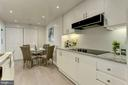 Kitchen w/ new granite countertops - 5600 WISCONSIN AVE #902, CHEVY CHASE