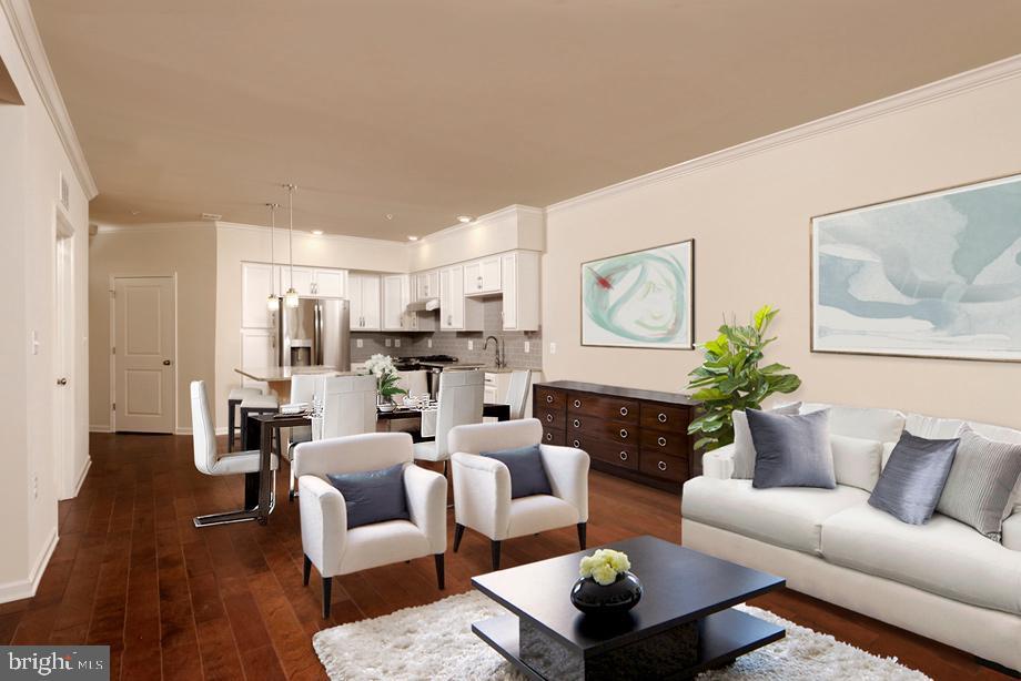 Duval Open Concept Floor Plan - 23255 MILLTOWN KNOLL SQ #108, ASHBURN