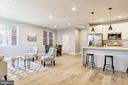 Open Living/Dining Space - 1838 PROVIDENCE ST NE #1, WASHINGTON