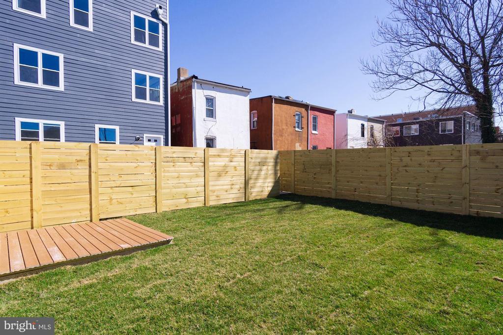 Private Outdoor Space - 1838 PROVIDENCE ST NE #1, WASHINGTON