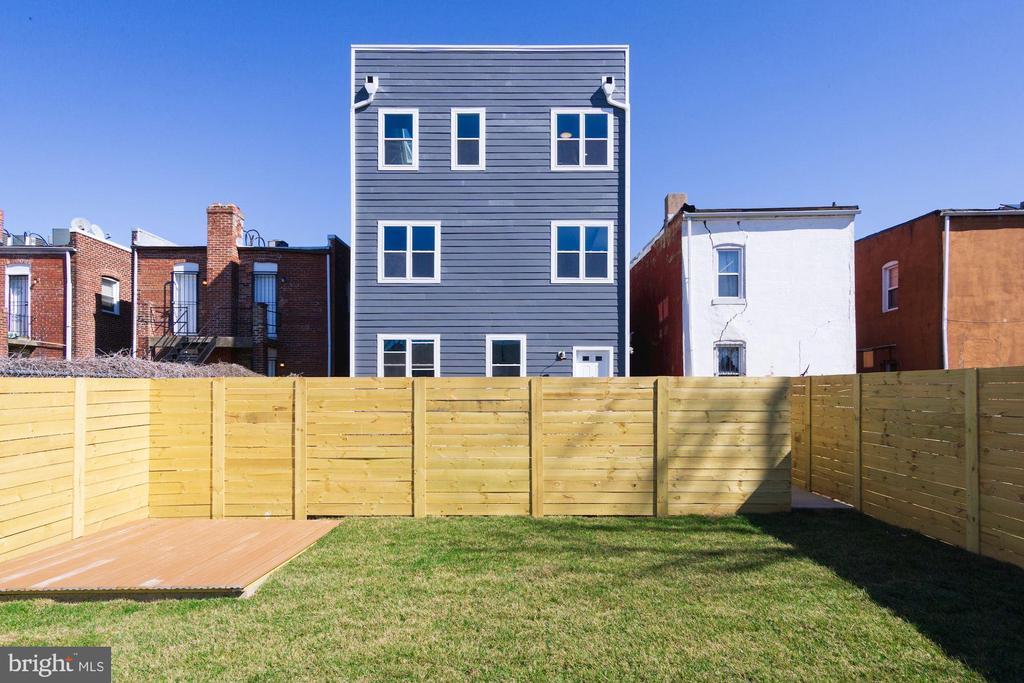 Rear Exterior - 1838 PROVIDENCE ST NE #1, WASHINGTON