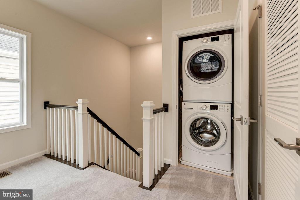 Melbourne Bedroom Level/Washer & Dryer - 23265 MILLTOWN KNOLL SQ #106, ASHBURN