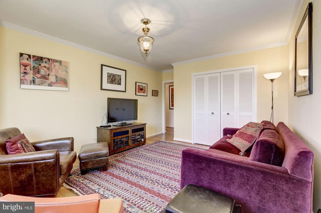 ...with nice closet space, + you have huge storage - 5100 DORSET AVE #505, CHEVY CHASE