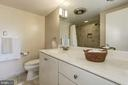 Updated master bathroom - 5100 DORSET AVE #505, CHEVY CHASE