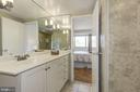 nice tub and tiles - 5100 DORSET AVE #505, CHEVY CHASE