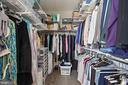 2 large walk in closets - 930 ROSE AVE #PH2102, ROCKVILLE