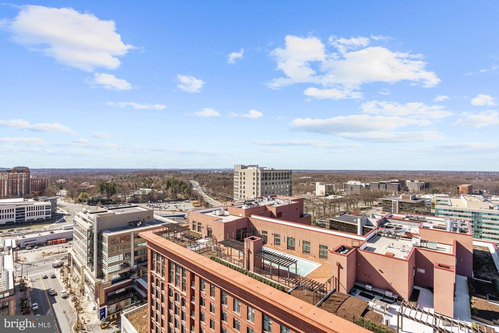 Rooftop view - 930 ROSE AVE #PH2102, ROCKVILLE