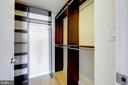 Master Bedroom Walk-In Closet - 912 F ST NW #1106, WASHINGTON