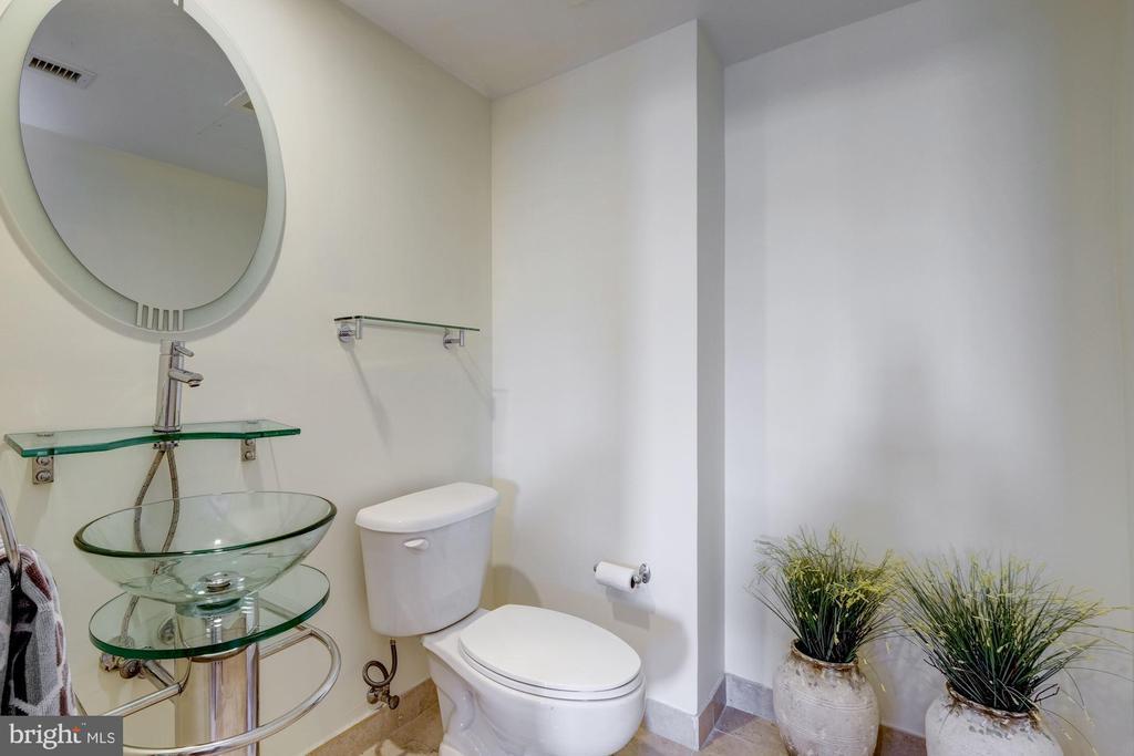 Half Bath on First Level - 912 F ST NW #1106, WASHINGTON