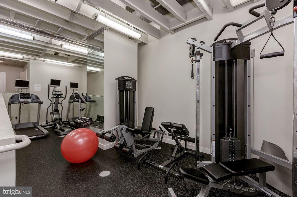 Building Fitness Center - 912 F ST NW #1106, WASHINGTON