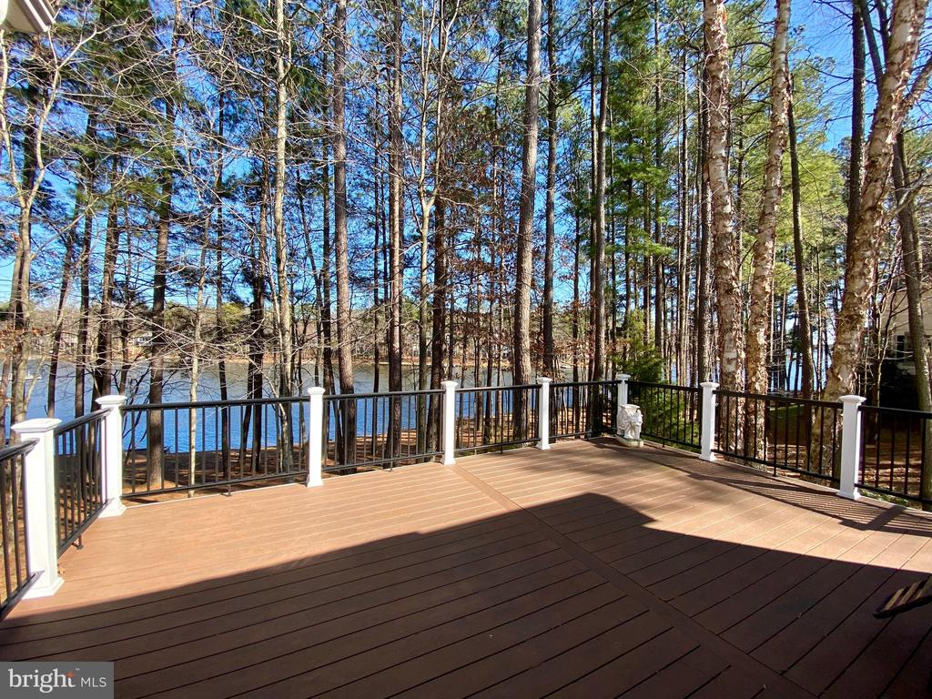 Large entertaining deck offers great views! - 11519 GENERAL WADSWORTH DR, SPOTSYLVANIA