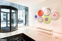 Beautiful contemoporary lobby - 925 H ST NW #707, WASHINGTON