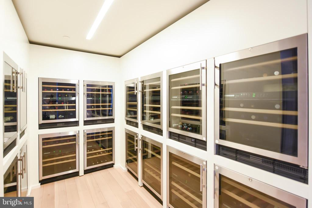 Wine storage off the party room - 925 H ST NW #707, WASHINGTON