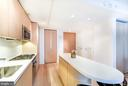 Gourmet kitchen with Caesarstone counters - 925 H ST NW #707, WASHINGTON