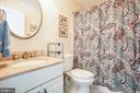 Bathroom attached to secondary bedroom #1 - 10408 LAUREL RIDGE WAY, FREDERICKSBURG