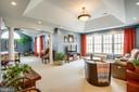 Master bedroom and full size sitting room - 10408 LAUREL RIDGE WAY, FREDERICKSBURG