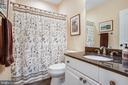 Full bath in the basement - 10408 LAUREL RIDGE WAY, FREDERICKSBURG