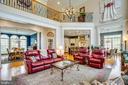 Magnificent family room - 10408 LAUREL RIDGE WAY, FREDERICKSBURG