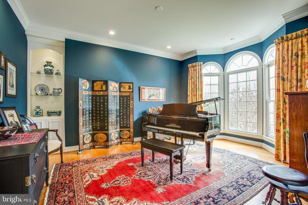 More beautiful windows accent living room - 10408 LAUREL RIDGE WAY, FREDERICKSBURG